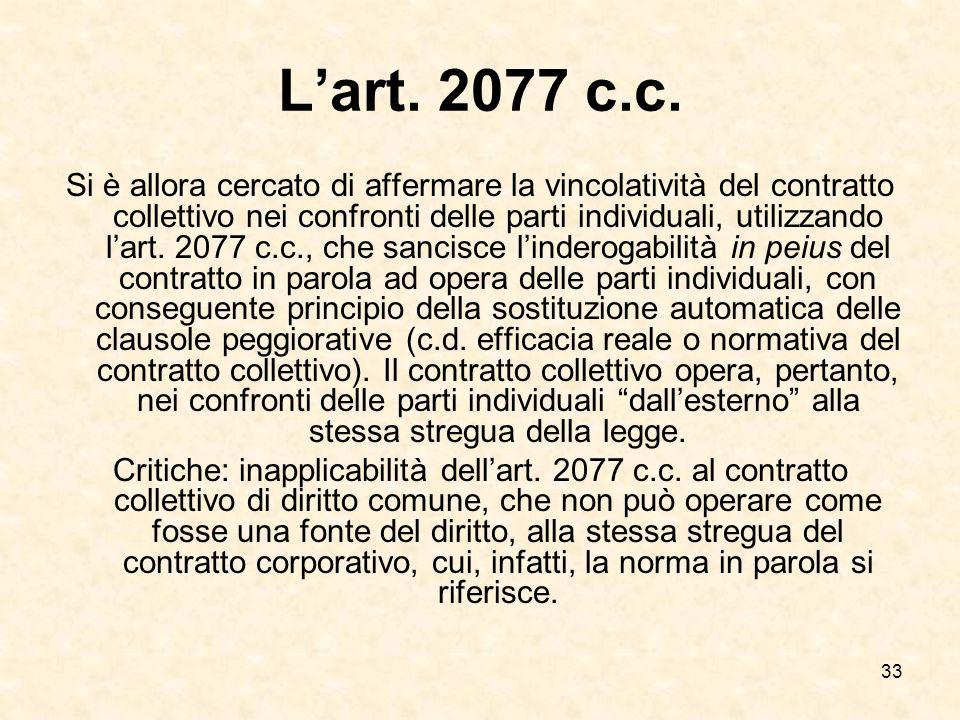 33 Lart.2077 c.c.