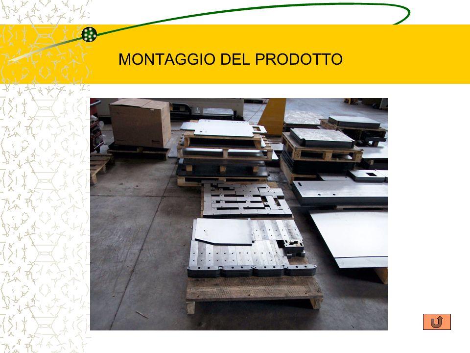 MONTAGGIO DEL PRODOTTO