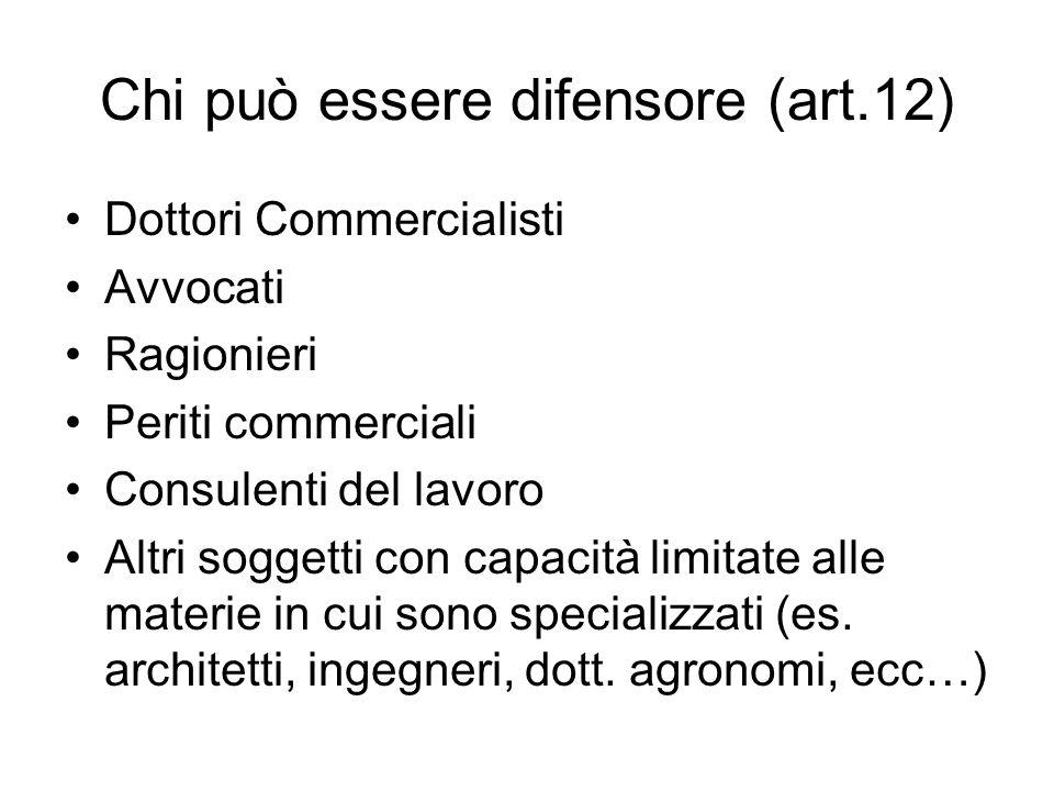 Definizione liti fiscali pendenti Lart.12, c. 9, D.L.