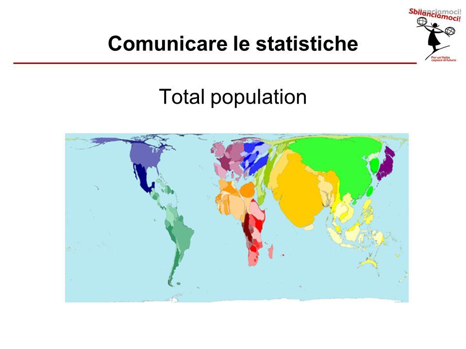 Total population Comunicare le statistiche