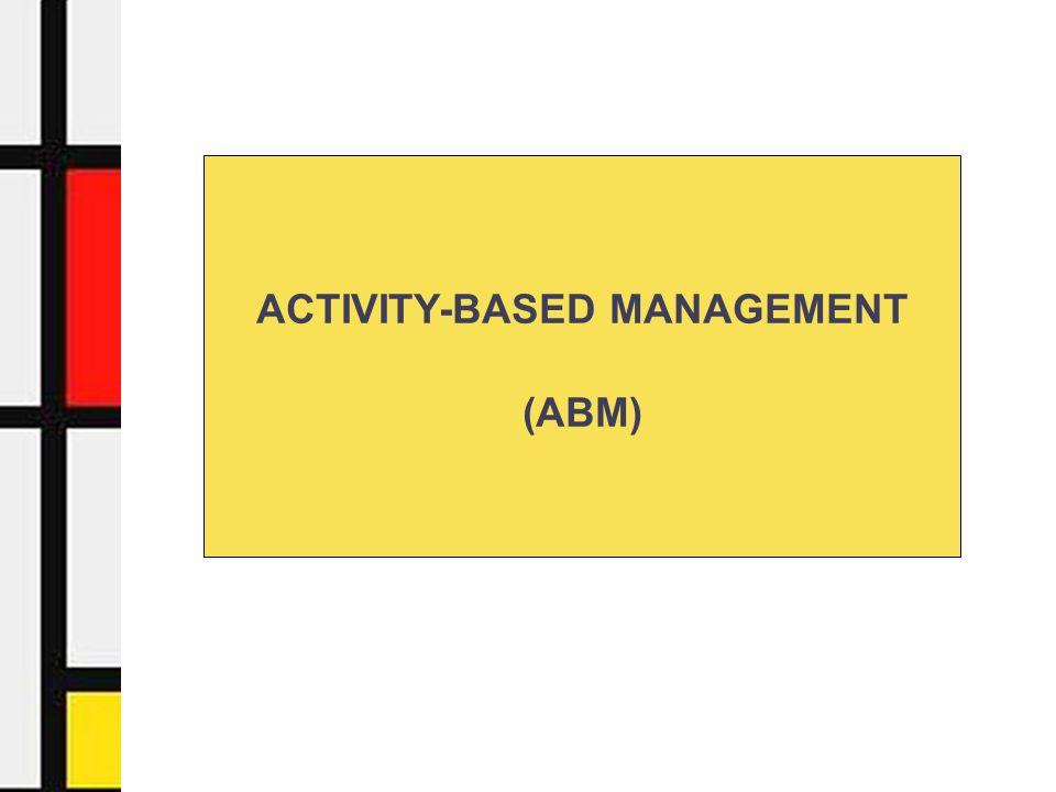 Activity-Based Management - Facoltà di Economia - Università di Urbino12 Ricev iment o Immagazzi namento mat.
