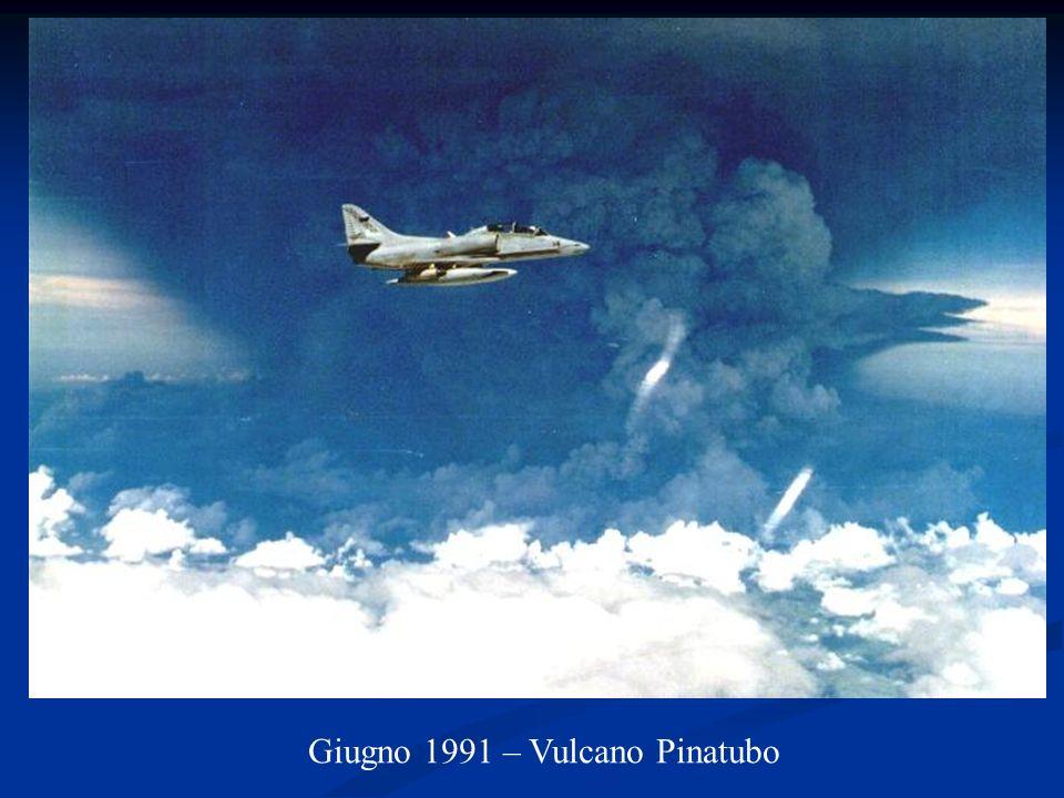 Giugno 1991 – Vulcano Pinatubo