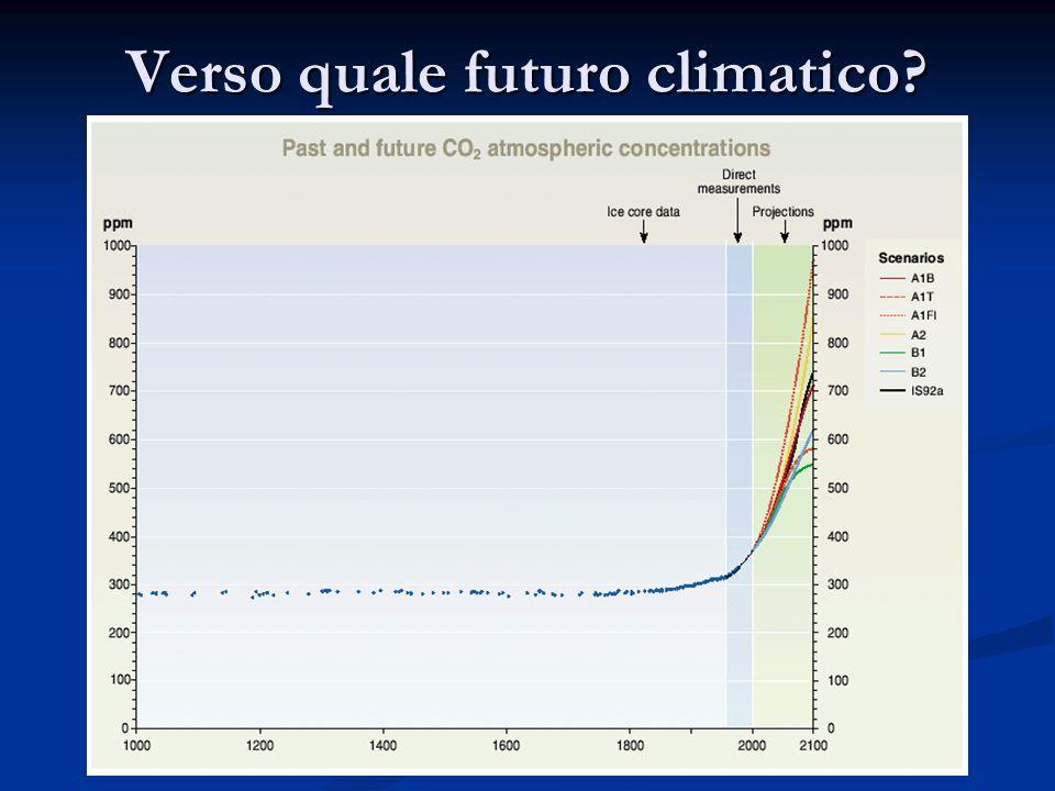 Verso quale futuro climatico?