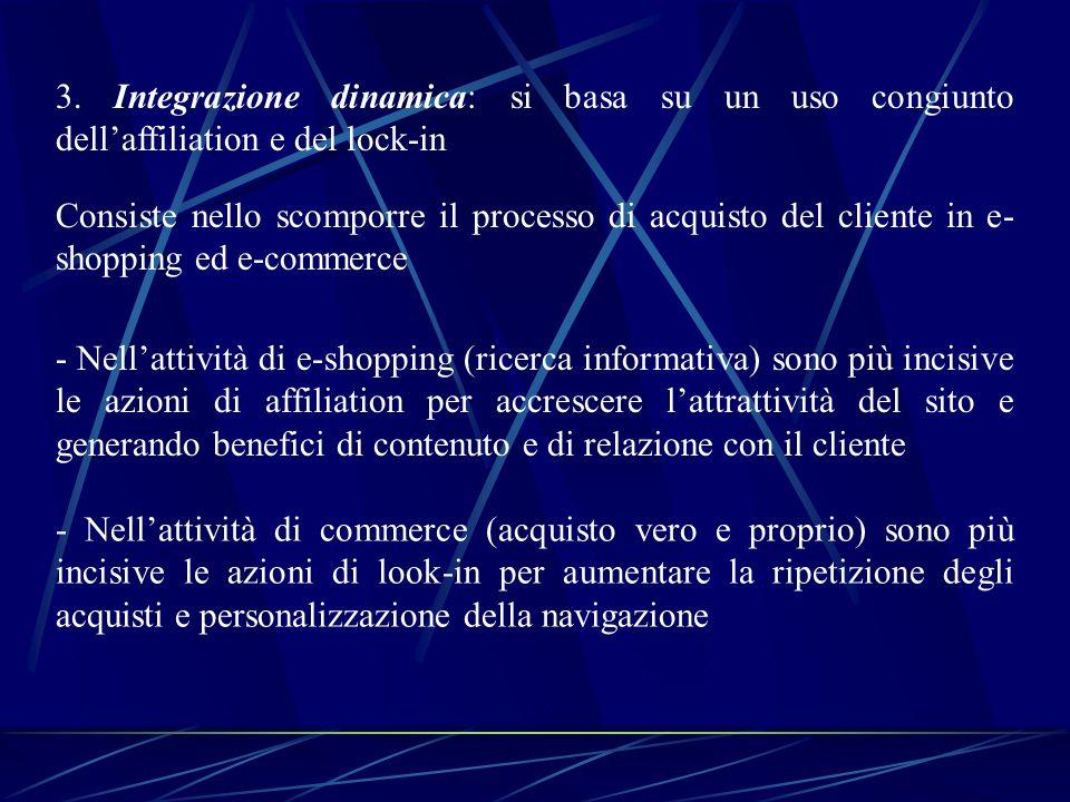 IL MODELLO DINAMICO DI POSIZIONAMENTO 1.Definizione del target 2.