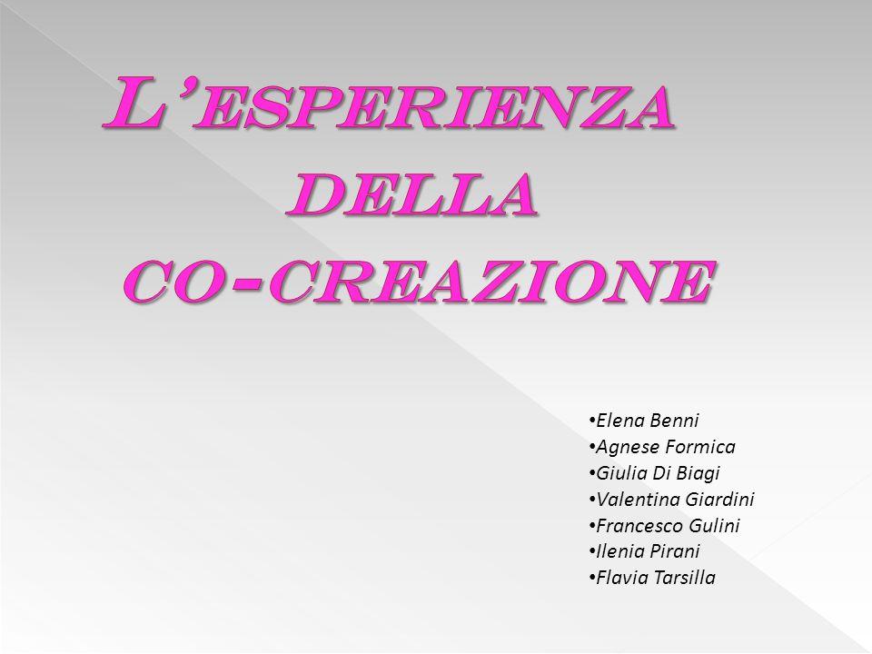 Elena Benni Agnese Formica Giulia Di Biagi Valentina Giardini Francesco Gulini Ilenia Pirani Flavia Tarsilla