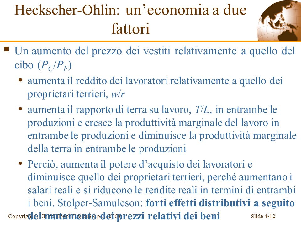 Slide 4-12Copyright © Ulrico Hoepli Editore S.p.A.
