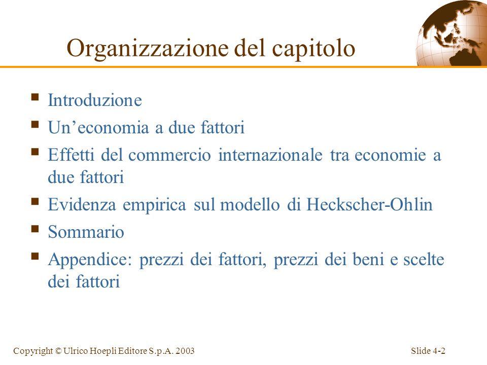 Slide 4-13Copyright © Ulrico Hoepli Editore S.p.A.