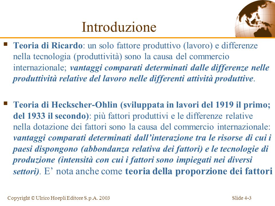 Slide 4-4Copyright © Ulrico Hoepli Editore S.p.A.