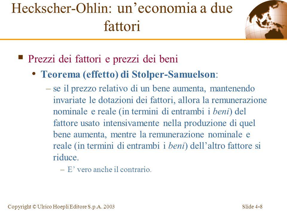 Slide 4-9Copyright © Ulrico Hoepli Editore S.p.A.
