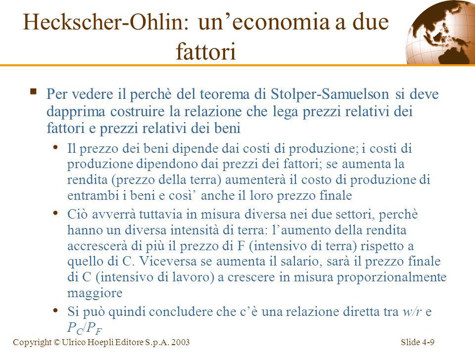 Slide 4-20Copyright © Ulrico Hoepli Editore S.p.A.