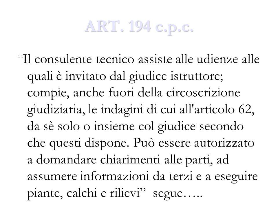 ART.194 c.p.c. …. ….