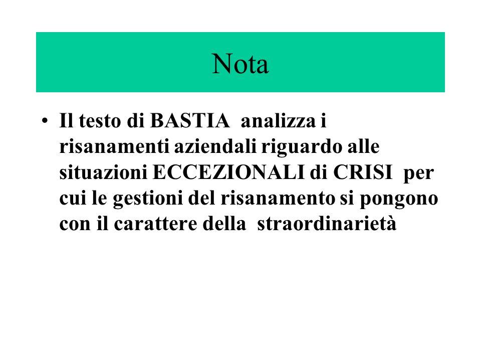 CAUSEPer cui per una ricerca più approfondita è meglio utilizzare le CAUSE come criterio di classificazione delle crisi.