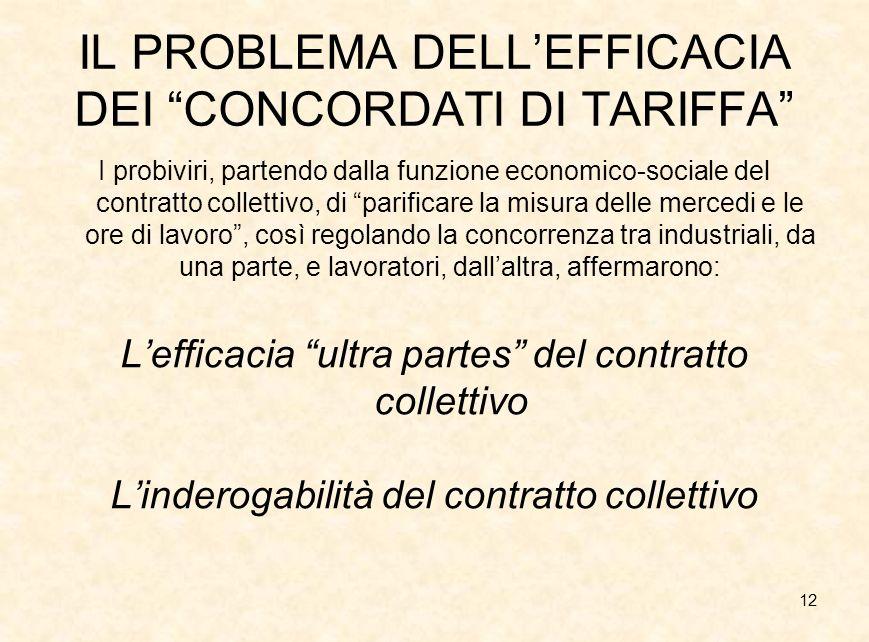13 DIRITTO SINDACALE E DIRITTO CIVILE Inadeguatezza degli strumenti civilistici alla comprensione del fenomeno sindacale.