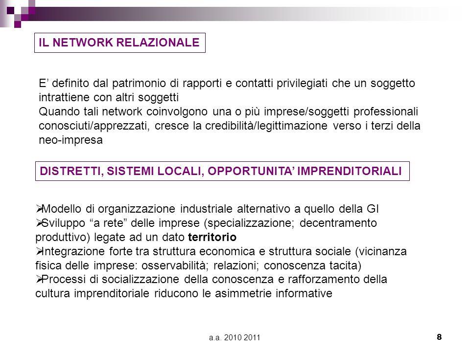 a.a.2010 201129 3. Fondo di coesione Finalità.