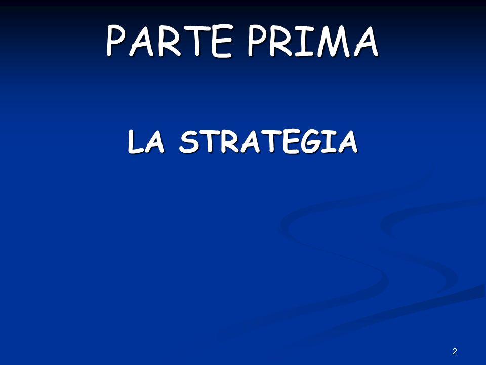 2 PARTE PRIMA LA STRATEGIA