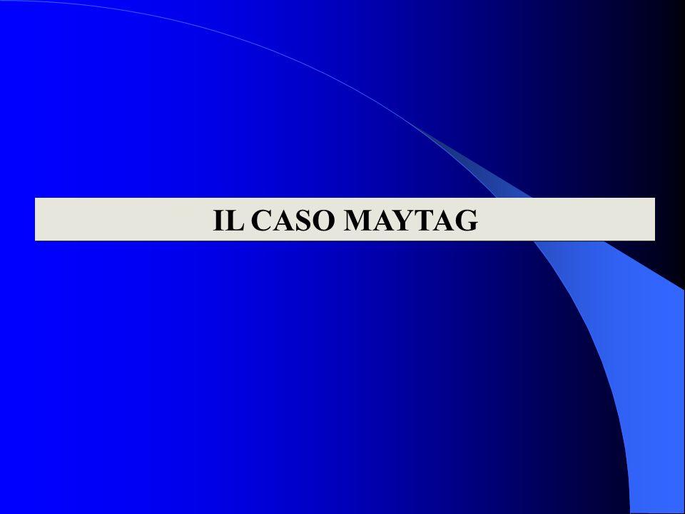 IL CASO MAYTAG