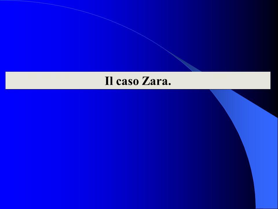 Il caso Zara.