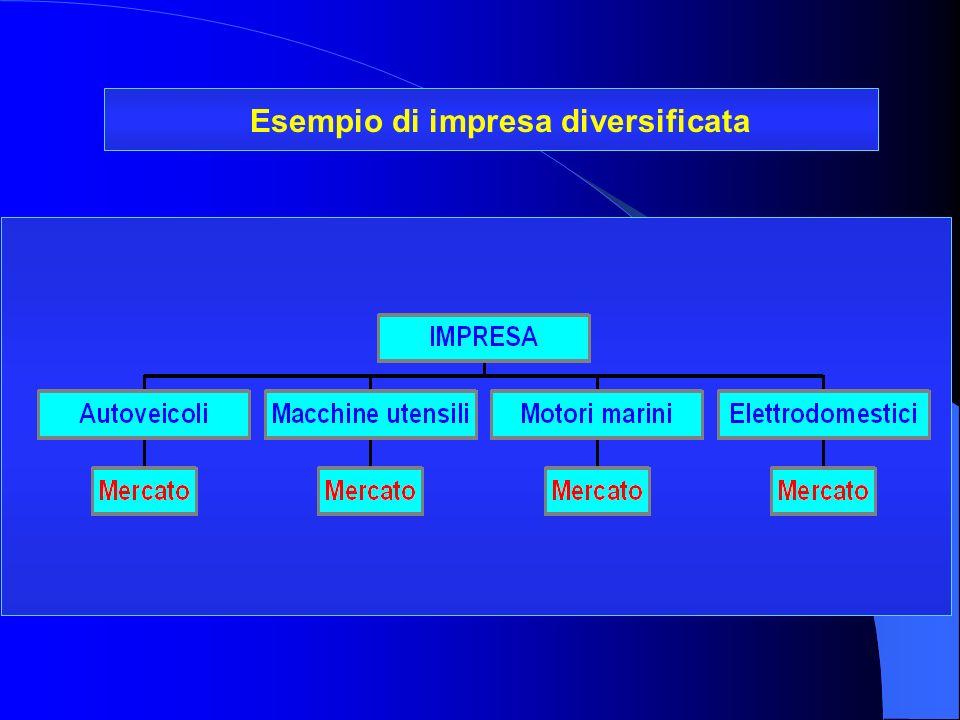 Esempio di impresa diversificata
