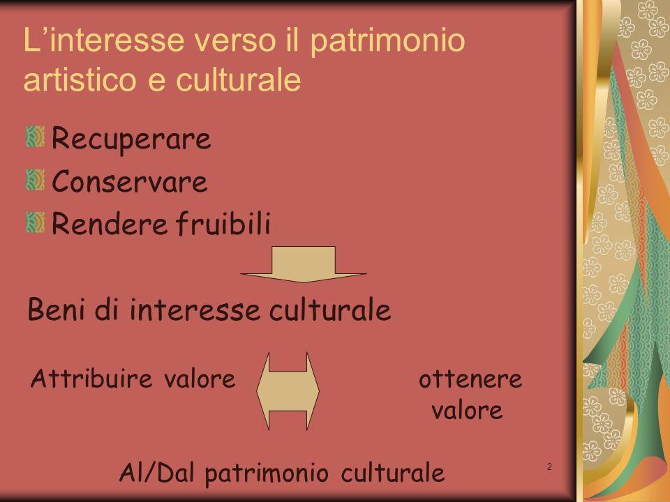 3 Economia Aziendale Management dei beni culturali Quali logiche e tecniche sono propriamente utilizzabili per la gestione delle organizzazioni culturali.