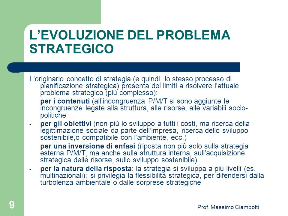 Prof. Massimo Ciambotti 10