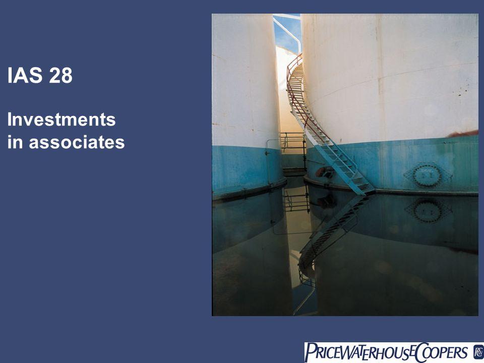 Page 2 IAS 28 – Partecipazioni in imprese collegate Ambito di riferimento (IAS 28.1): Trattamento contabile delle partecipazioni in imprese collegate, diverse da quelle detenute da imprese di venture capital o fondi chiusi, se valutate con il fair value model con variazioni a conto economico nel bilancio consolidato o di esercizio
