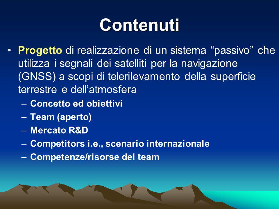 Capacità sperimentali Radiometri a microonde multicanale Nefo- ipsometro Sito sperimentale Spino dAdda Radar meteo Dati meteo