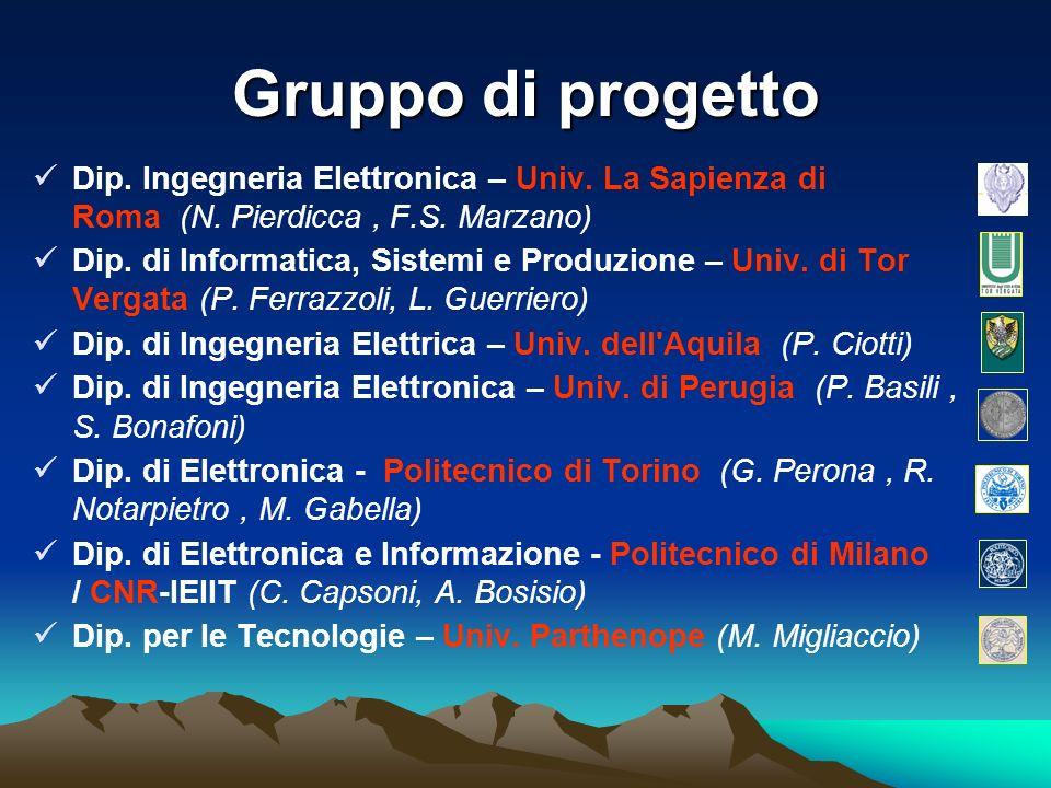Gruppo di progetto Dip.Ingegneria Elettronica – Univ.