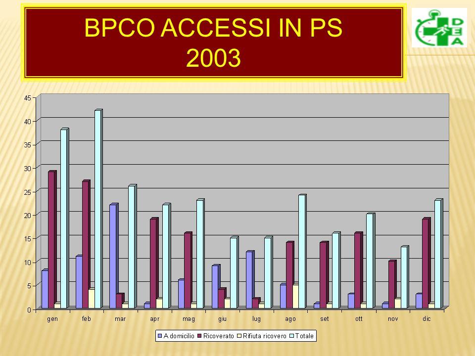 BPCO ACCESSI IN PS 2003