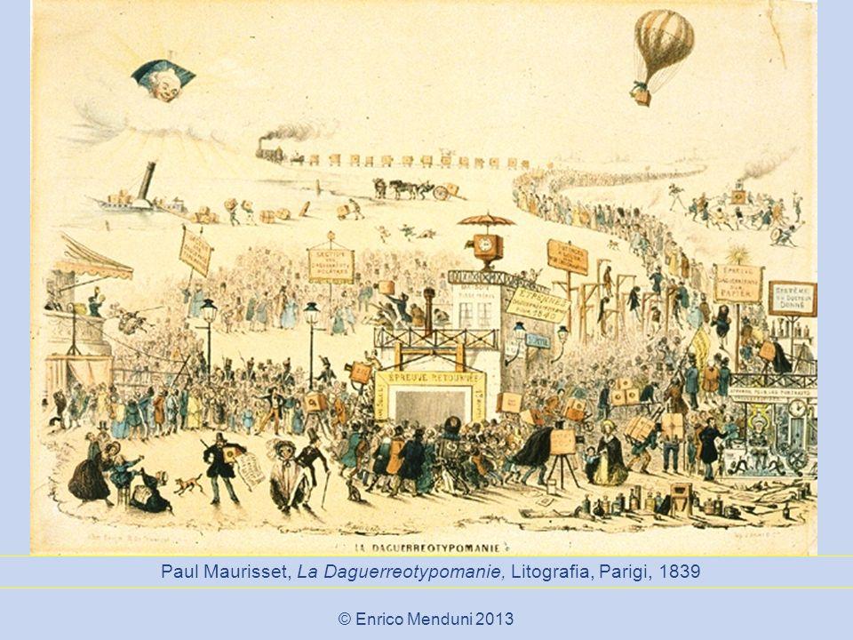 Paul Maurisset, La Daguerreotypomanie, Litografia, Parigi, 1839 © Enrico Menduni 2013