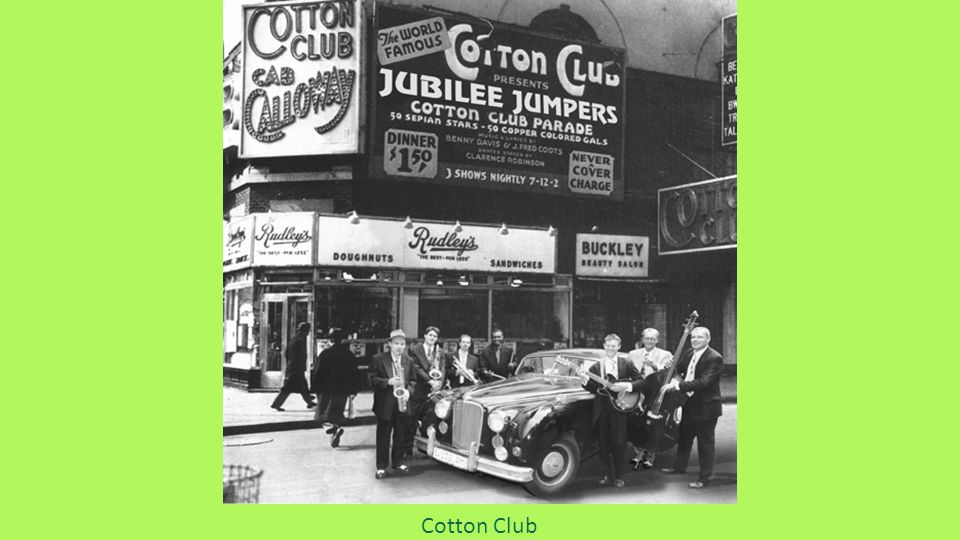 Cotton Club, Harlem, la parte nera di Manhattan