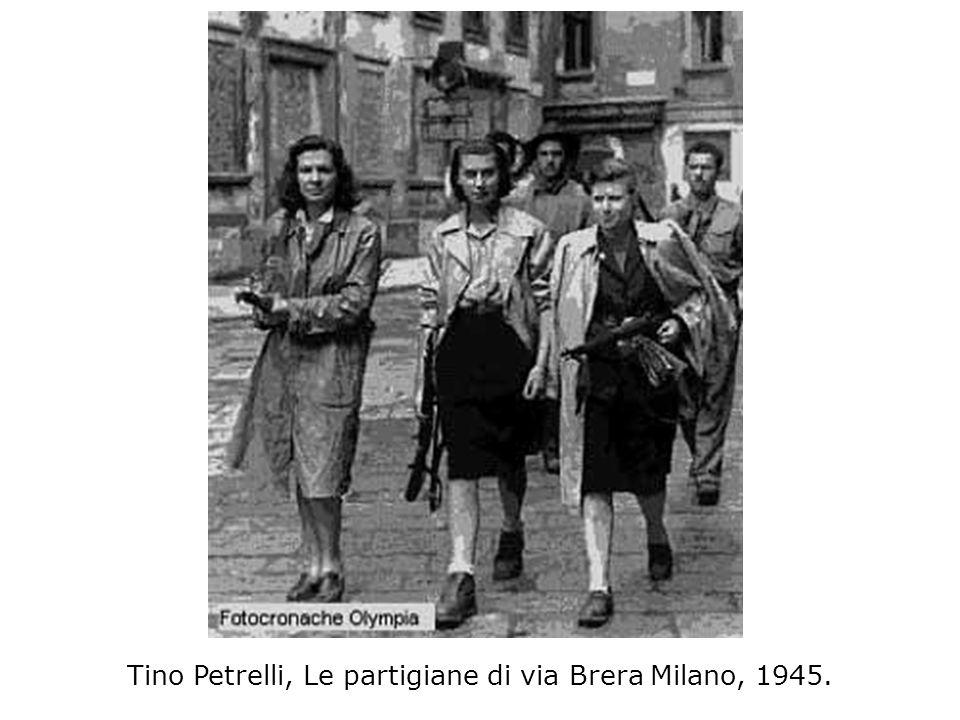 Tino Petrelli, Le partigiane di via Brera Milano, 1945.