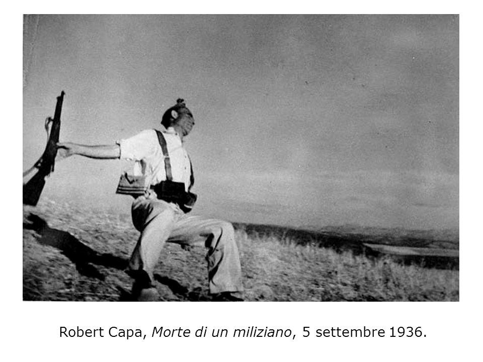 Robert Capa, Morte di un miliziano, 5 settembre 1936.