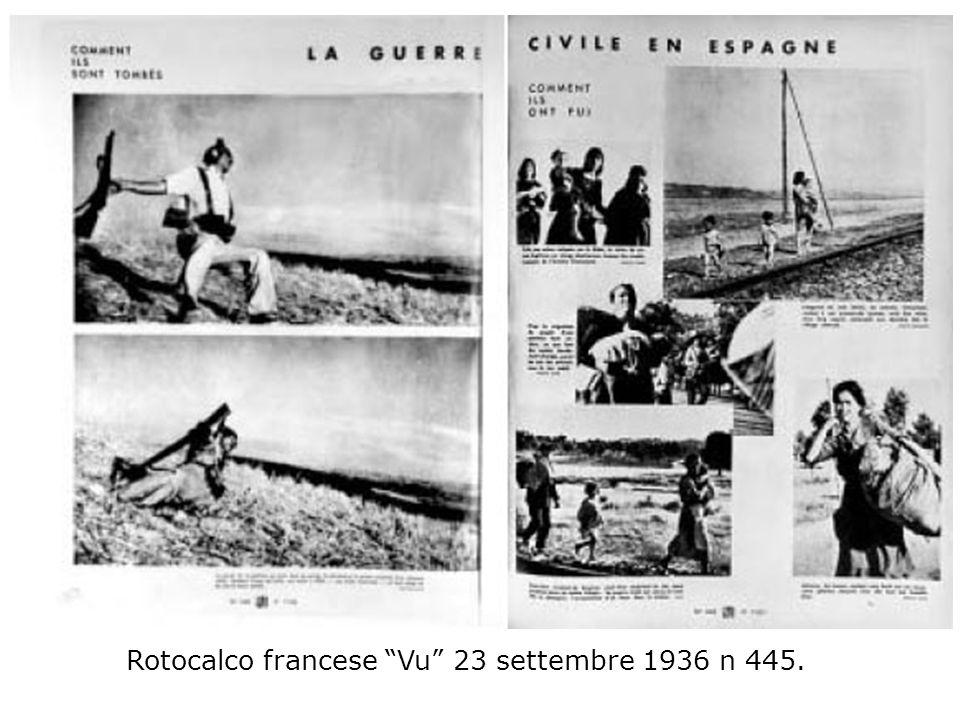 Rotocalco francese Vu 23 settembre 1936 n 445.