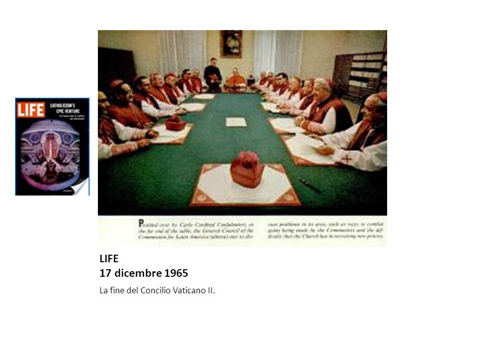 LIFE 1 dicembre 1972 Il restauro della Pietà di Michelangelo.