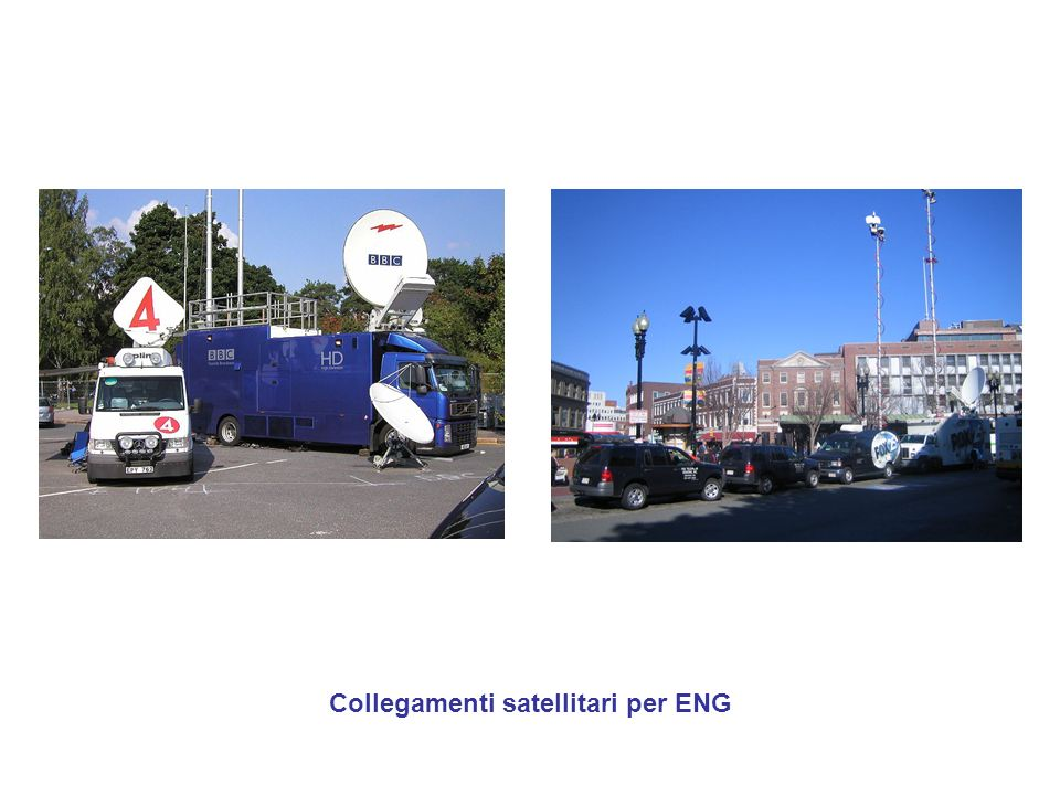 Collegamenti satellitari per ENG