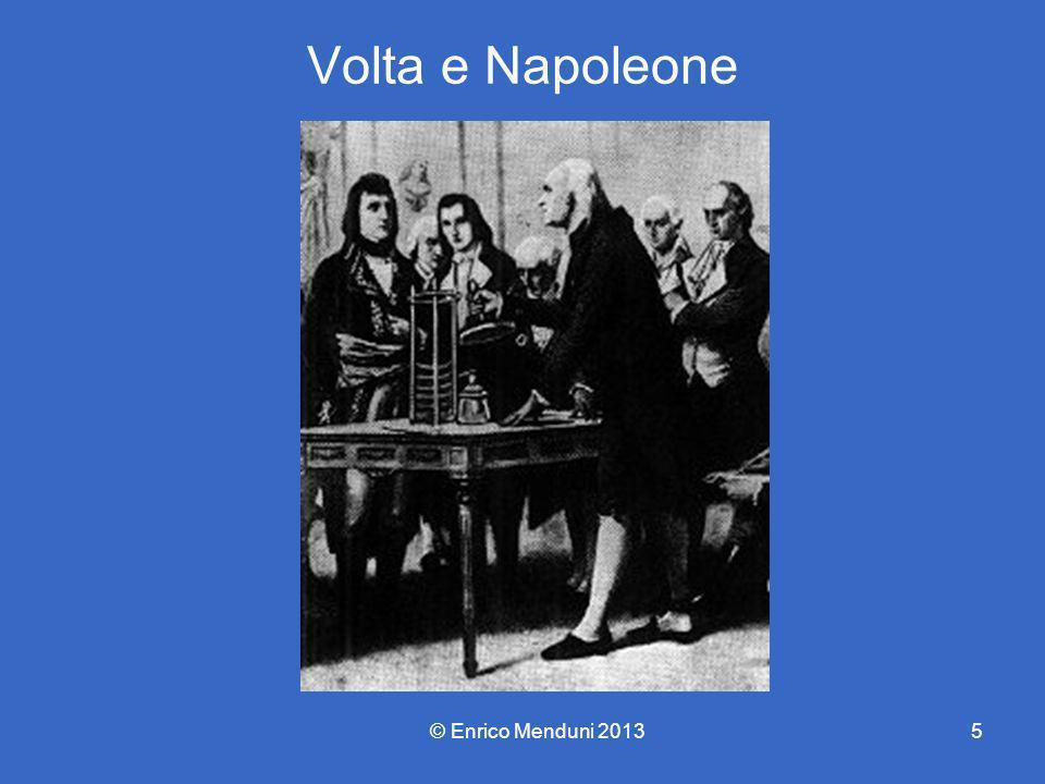 Volta e Napoleone © Enrico Menduni 20135