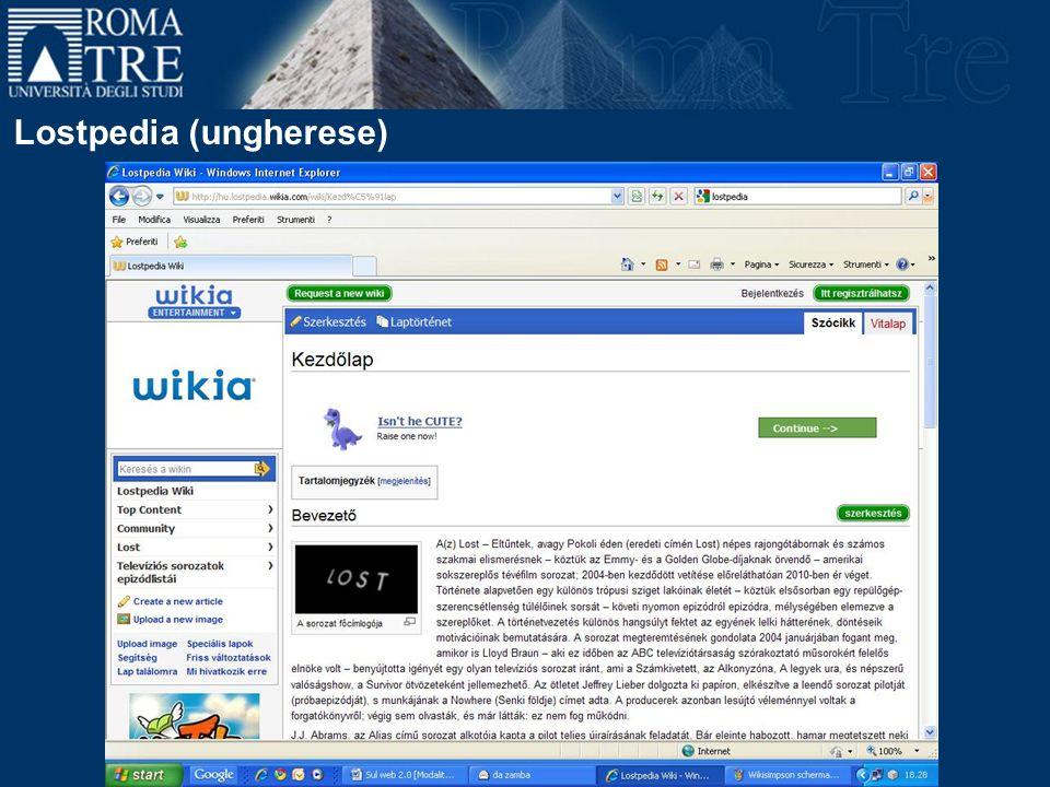 Lostpedia (ungherese)