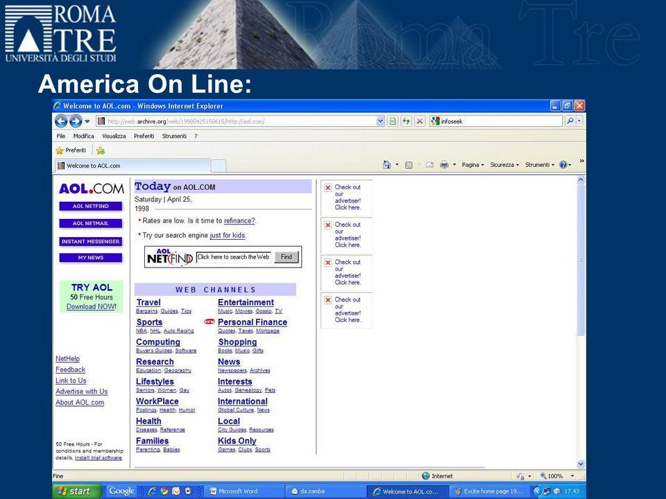 America On Line: