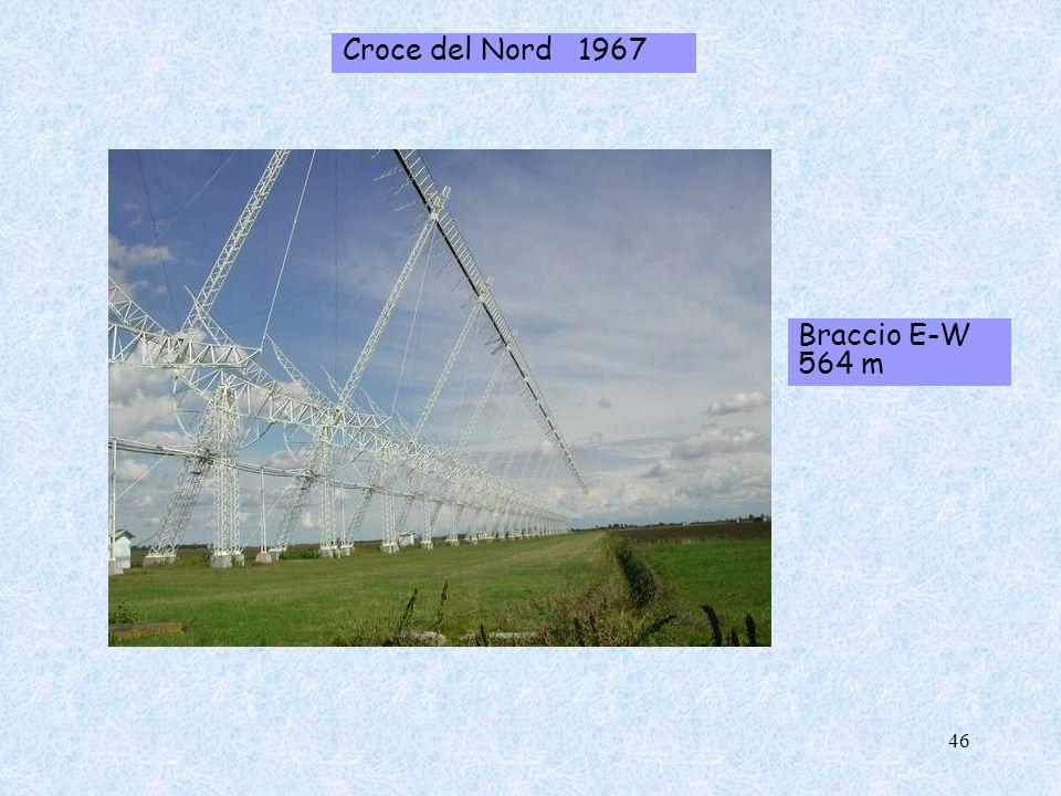 Croce del Nord 1967 Braccio E-W 564 m 46