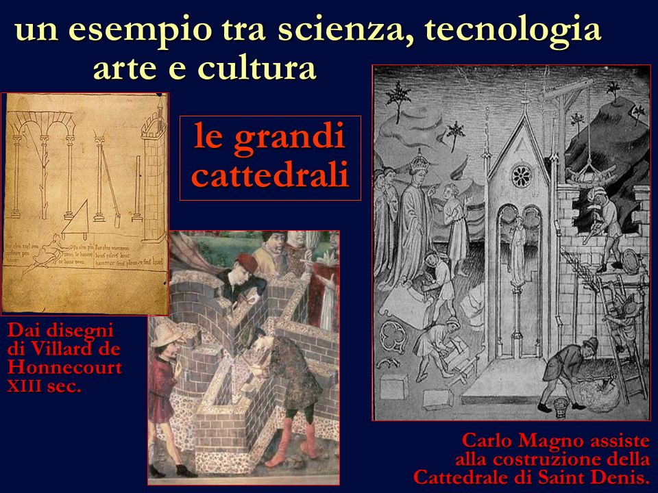 le grandi cattedrali Dai disegni di Villard de Honnecourt XIII sec.