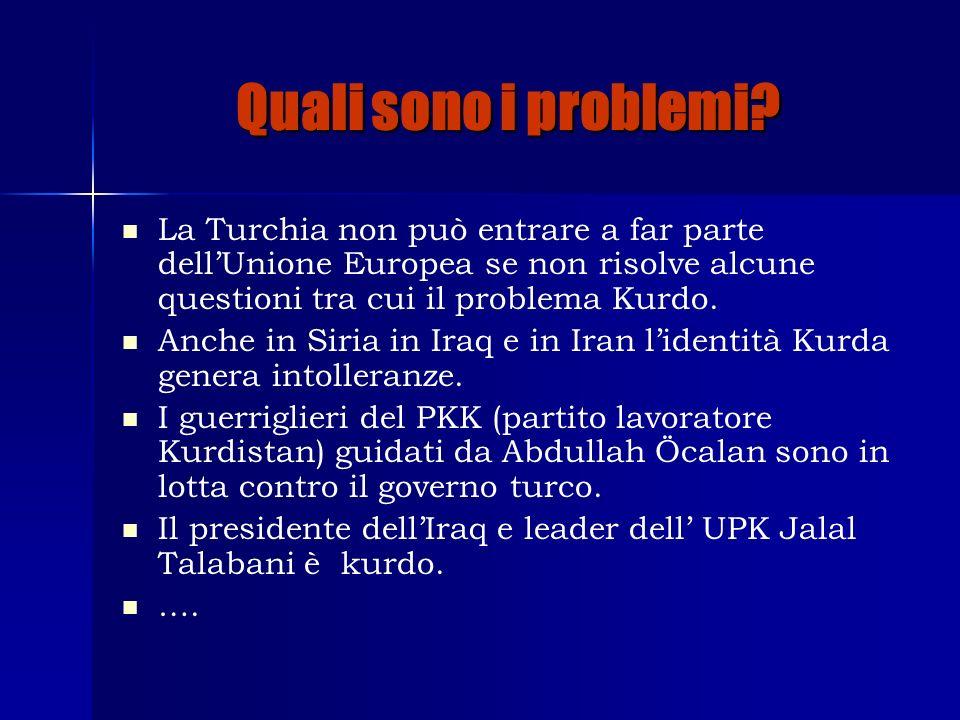 Qual è il compito.Rispondere a queste domande: Che influenza geopolitica hanno i Kurdi.