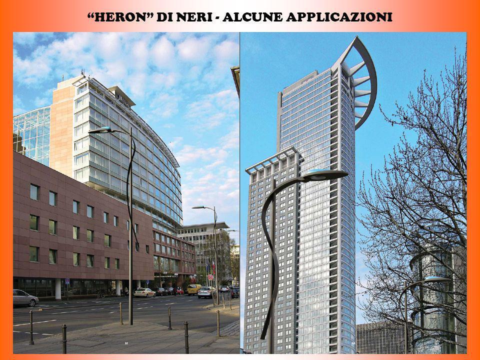 HERON DI NERI - ALCUNE APPLICAZIONI