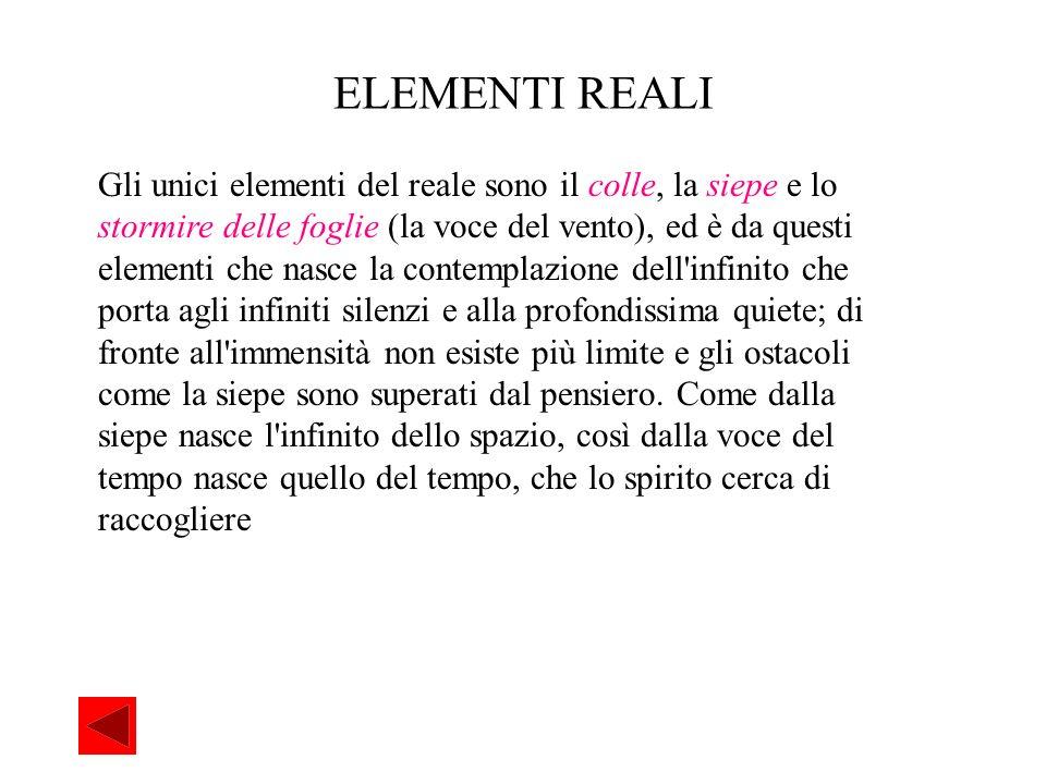 Analisi del testo Creazione: Composto a Recanati forse nella primavera del 1820.