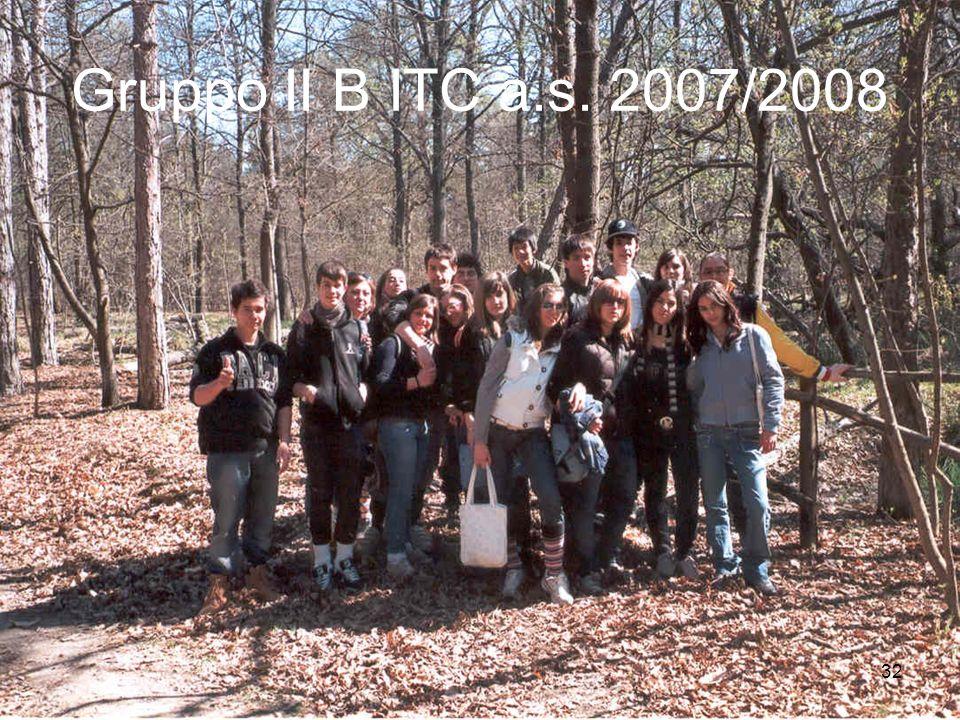 32 Gruppo II B ITC a.s. 2007/2008