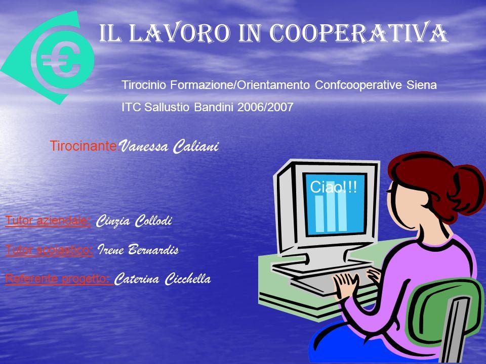 Le cooperative possono definirsi associazioni autonome di persone che si uniscono volontariamente per collaborare e cioè per operare assieme ad altri per il raggiungimento di uno scopo comune.