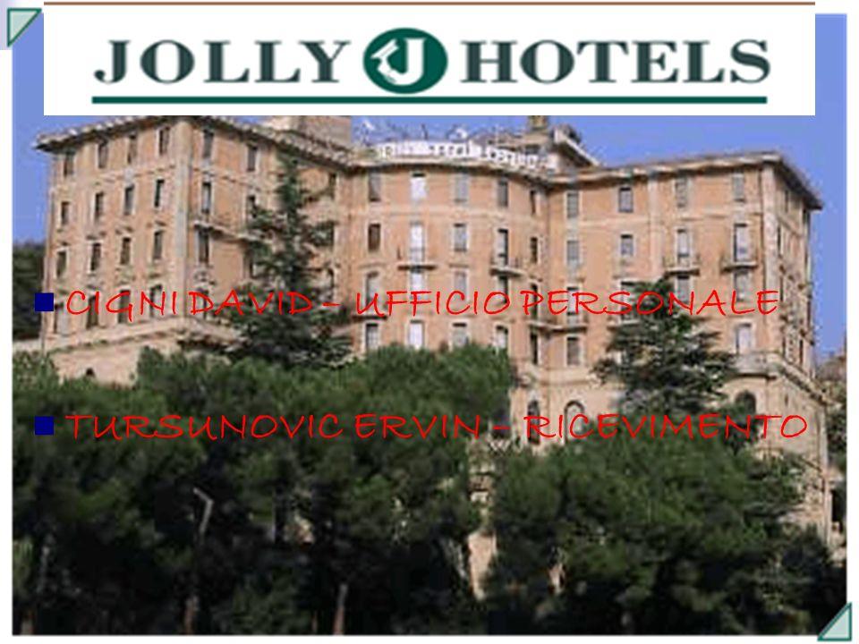 LOCAZIONE DELLAZIENDA & TUTOR AZIENDALE Il Jolly Hotel di Siena è situato in p.zza La Lizza, 2.