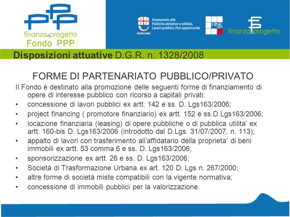 Disposizioni attuative D.G.R. n.