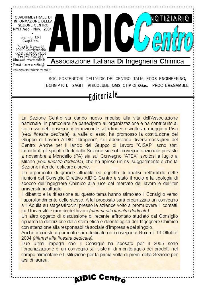 AIDIC Lazio N°13 Ago - Nov.