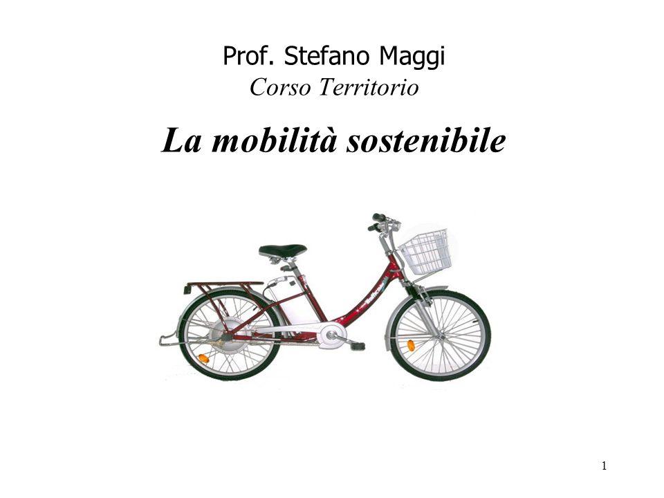 Prof. Stefano Maggi Corso Territorio La mobilità sostenibile 1