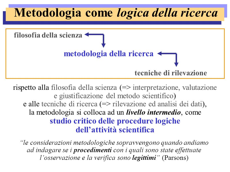 Conoscenza scientifica vs.